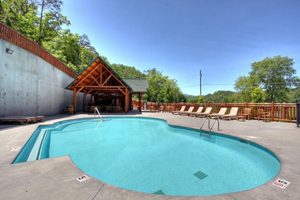 Pigeon Forge Swimming Pool Private Community