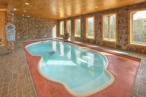 Smoky Mountain Cabin Indoor Pool