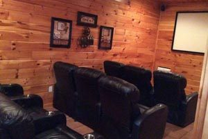Smoky Mountain Cabin With Movie Theater