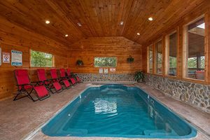 Pigeon Forge Cabin With Indoor Pool