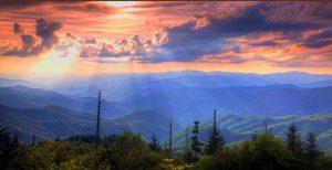 Pigeon Forge Mountain Views Landscape