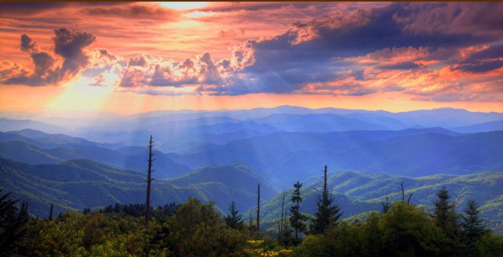 Pigeon Forge Mountain Views Landscape